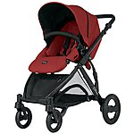 image of Britax B-Dual 4 Wheeled Pushchair Chili Pepper