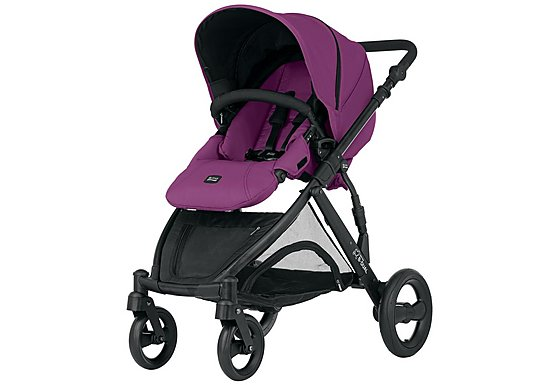Britax B-Dual 4 Wheeled Pushchair Cool Berry