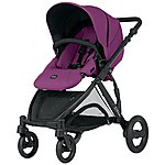 image of Britax B-Dual 4 Wheeled Pushchair Cool Berry