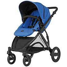 image of Britax B-Dual 4 Wheeled Pushchair Blue Sky