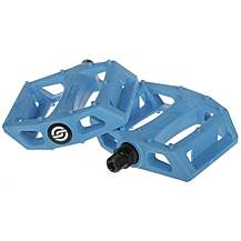 image of Salt AM 9/16' Nylon Bike Pedal - Cyan