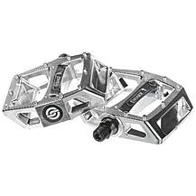 image of Salt AM 9/16' Nylon Bike Pedal - Chrome