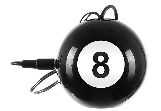 Kitsound Mini Buddy Speaker 8-Ball