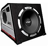 "VIBE Slick SLR 12"" Active Bass Subwoofer Enclosure"