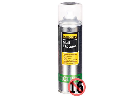 Halfords Matt Lacquer 300ml