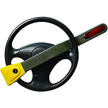 image of Stoplock Pulsar With Flashing Light Steering Wheel Lock