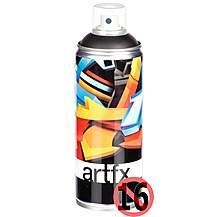 image of Halfords ArtFX Black Paint 400ml
