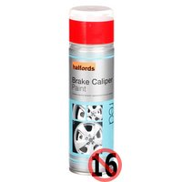 Halfords Brake Caliper Spray Paint Red 300ml