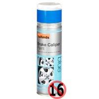 Halfords Brake Caliper Spray Paint Blue 300ml