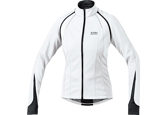 Gore Phantom 2.0 Windstopper Womens Jacket - Black/White, 38