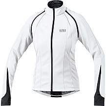image of Gore Phantom 2.0 Windstopper Womens Jacket - Black/White, 38