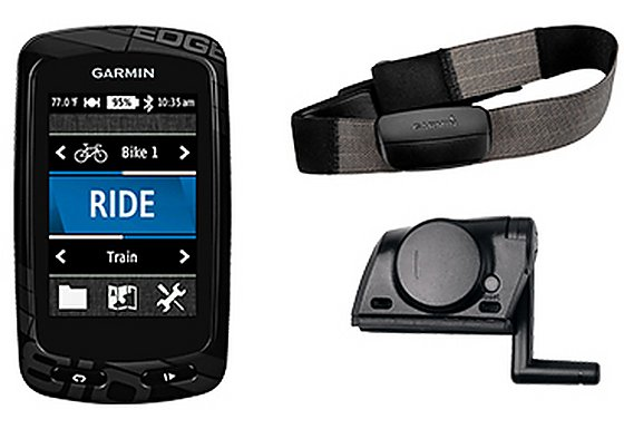Garmin Edge 810 GPS Cycle Computer Performance Bundle