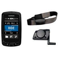 Garmin Edge 810 GPS Cycle Computer Performance Bundle