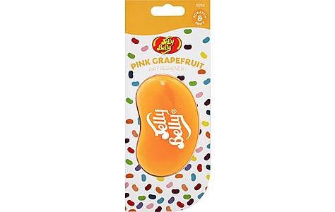 image of Jelly Belly 3D Car Air Freshener Pink Grapefruit