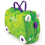 image of Trunkisaurus Rex Trunki Ride on Suitcase