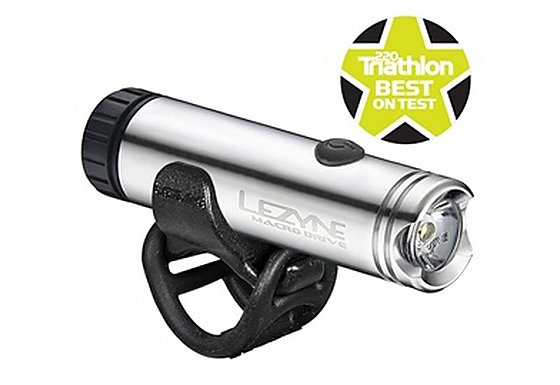 Lezyne LED Macro Drive Front Bike Light - Silver