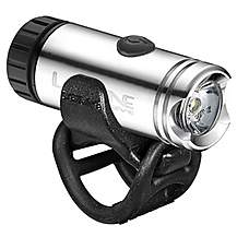 image of Lezyne LED Micro Drive Front Bike Light - Silver