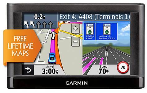 "image of Garmin nuvi 42LM 4.3"" Sat Nav with UK & Ireland Lifetime Maps"