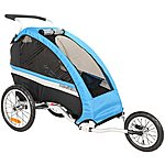 image of WeeRide Classic Bicycle Trailer Stroller Jogger
