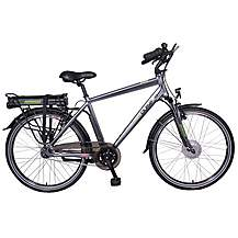 image of Pulse ZR5 Mens Electric Hybrid Bike - 48, 52cm Frames