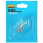 image of Halfords 580 W21/5W Car Bulb x 1