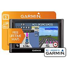 "image of Garmin Nuvi 52 LM UK & ROI 5"" Sat Nav"