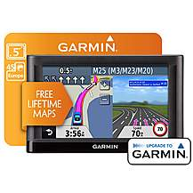 "image of Garmin Nuvi 54 LM - Full Europe 5"" Sat Nav"
