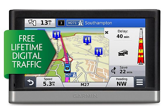 Garmin Nuvi 2408 Lifetime Digital Traffic UK & ROI Sat Nav