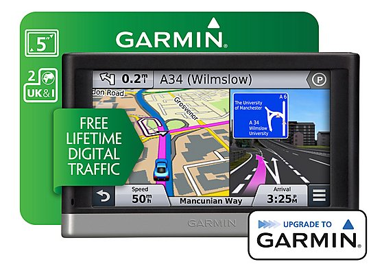 Garmin Nuvi 2508 Lifetime Digital Traffic UK & ROI Sat Nav