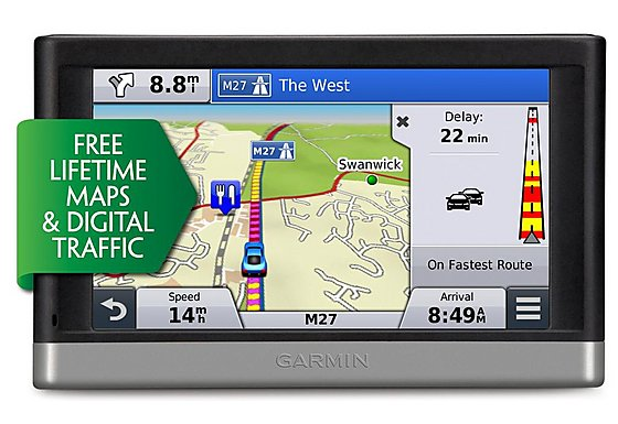 Garmin Nuvi 2548 Lifetime Maps & Digital Traffic Western Europe Sat Nav