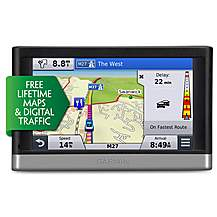 "image of Ex-Display Garmin Nuvi 2548 Lifetime Maps & Digital Traffic Western Europe 5"" Sat Nav"