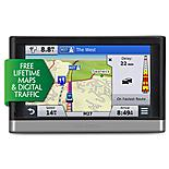 "Garmin Nuvi 2508 5"" Sat Nav with Lifetime Maps & Traffic UK & ROI"