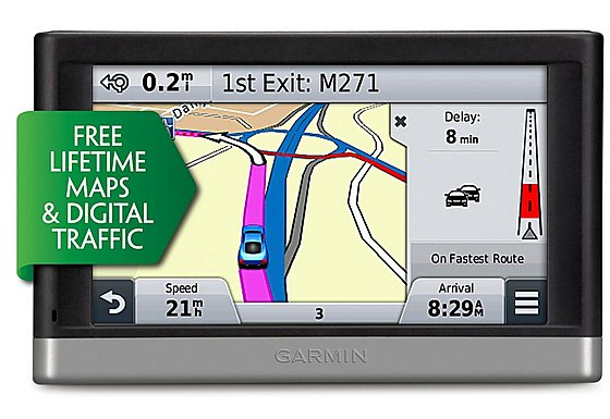 Garmin Nuvi 2598 Lifetime Maps & Digital Traffic Full Europe Sat Nav