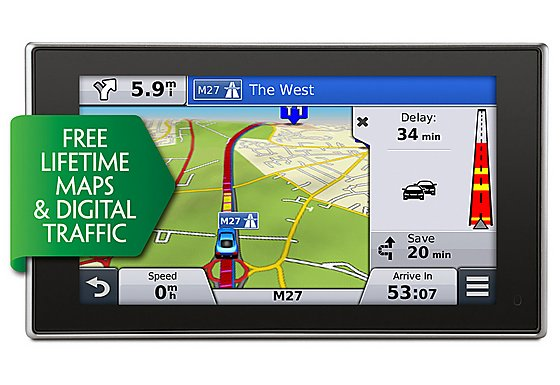 Garmin Nuvi 3598 Lifetime Maps & Digital Traffic Full Europe Sat Nav