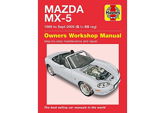 Haynes Mazda MX5 (1989-1995) G - 55 Manual