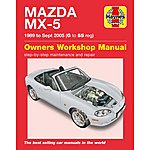 image of Haynes Mazda MX5 (1989-1995) G - 55 Manual