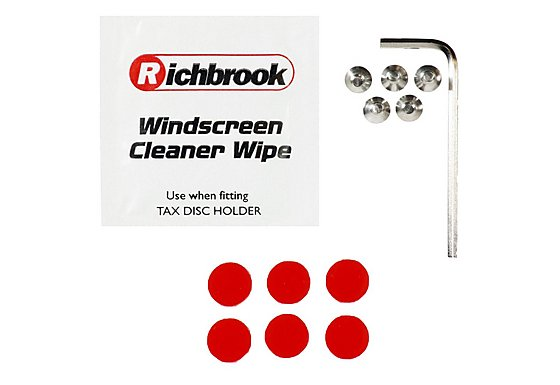 Richbrook Alloy Tax Disc Holder Spares Kit