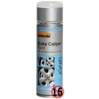 Halfords Brake Caliper Spray Paint Silver 300ml