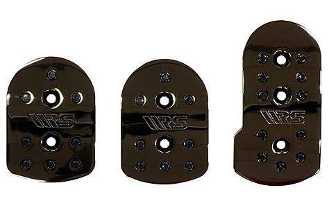 image of Ripspeed Competition Car Pedal Set - Black Chrome