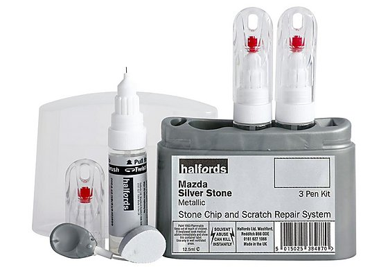 Halfords Mazda 'Silver Stone' Scratch & Chip Repair Kit