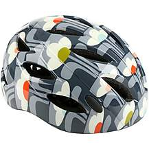image of Olive and Orange by Orla Kiely Womens Bike Helmet (54-58cm) - Tulip