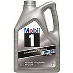 image of Mobil 1 Fully Synthetic X1 5W50 Engine Oil 5L