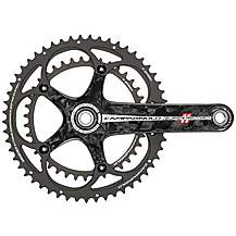 image of Campagnolo- Super Record 11x Ultra-Torque Ti-Carbon Chainset