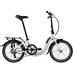 image of Dahon Ciao D7 Folding Bike - White