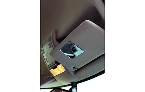 image of Summit Stick On Vanity Car Mirror