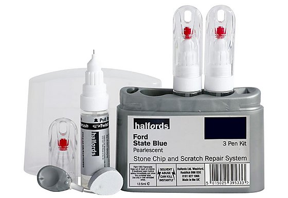 Halfords Ford 'State Blue' Scratch & Chip Repair Kit