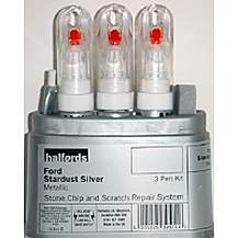 image of Halfords Ford Stardust Silver Scratch & Chip Repair Kit