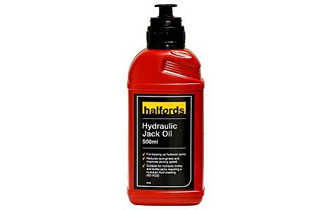 image of Halfords Hydraulic Jack Oil