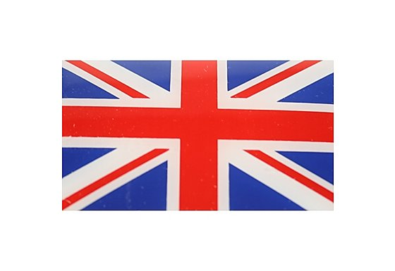Union Jack Flag Car Sticker