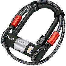 image of Magnum Plus Mini Shackle & Extender Cable Bike Lock